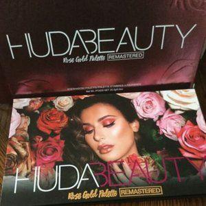 HP-HUDA ROSEGOLD REMASTERED Eyeshadow Palette BNIB